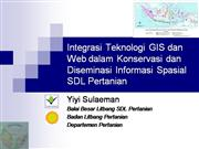 webGIS integration