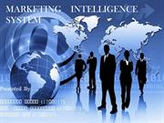 marketing intelligence system