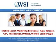 Mobile Search Marketing Solutions Ajax Toronto GTA Mississauga Ontario