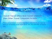 Overall Travel Offers Best Travel Solutions