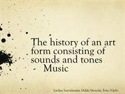 History of Music prese