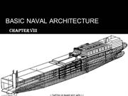 Basic Naval Architecture chapter 8