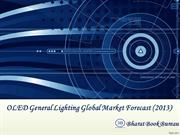 OLED General Lighting Global Market Forecast (2013)
