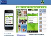 Herbalife Facebook + Application