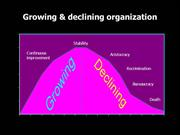 Growing & Declining Orgn