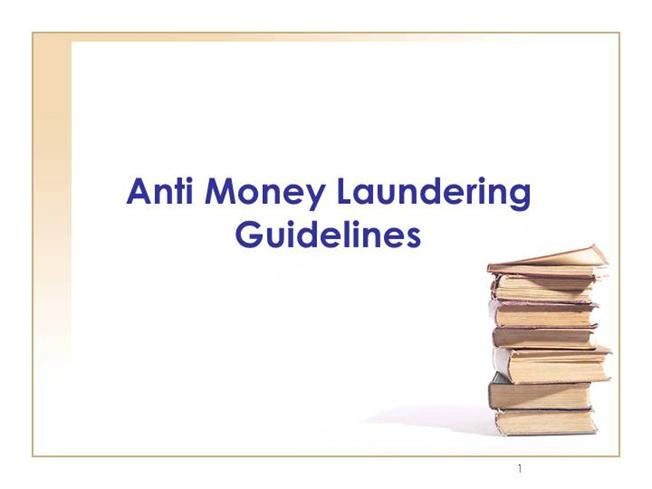 essay on anti-money laundering