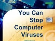 You Can Stop Computer Viruses