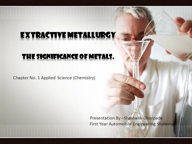 Extractive Metallurgy |authorSTREAM