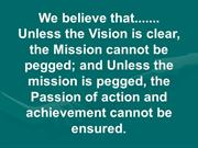 Vision Mission