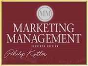 Marketing Management by Philip Kotler (11th Edition)
