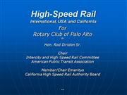 High-speed-rail Powerpoint