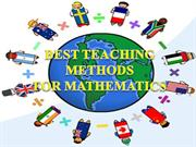 BEST TEACHING METHODS new