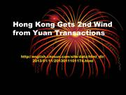 Abney Associates - Hong Kong Gets 2nd Wind from Yuan Transactions