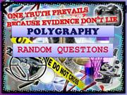 Polygraphy Basic Questions