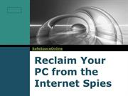 Reclaim Your PC from the Internet Spies
