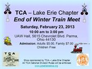 TCA – Lake Erie Chapter 2-23-13