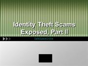 Identity theft Scams Exposed 2
