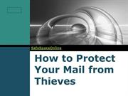How to protect your mail from thieves