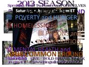 OUR COMMON GROUND with Janice Graham  2013 Broadcast Season Begins