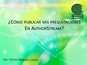 Subir presentaciones a authorstream2.0