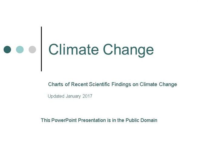 Climate Change: Recent Scientific Findings And what You Can Do ...