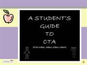 A students guide to CTA (for FAC students)