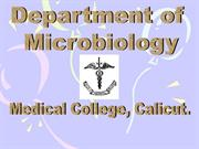 1 Welcome to Microbiology