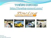 Towing Concord