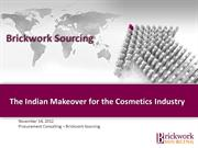 Cosmetics Industry - The Indian Makeover