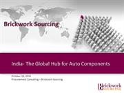 Auto Components Boom - Indian Market in Demand