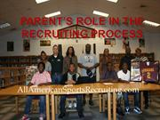 Parents Role In The Recruiting Process
