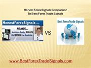 Honest Forex Signals Comparison To Best Forex Trade Signals