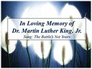 2013 Martin Luther King Jr Tribute
