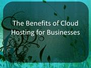 What can a Cloud Hosting do for your Business?