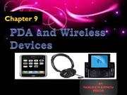 9 PDA and Wireless Devices-FAIRUDZ