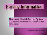 14 Electronic Health Record Systems- LOCSON
