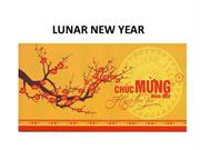 LUNAR NEW YEAR 1