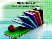 APPLE IN BOOKS EDUCATION POWERPOINT THEME