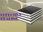 EFFECTIVE READING PPT - Copy