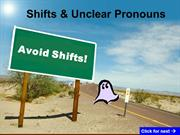 Shifts & Unclear References