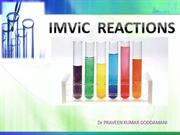 IMViC reactions PRAVEEN