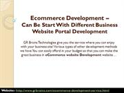 Can Be Start With Different Business Website Portal Development
