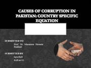 Corruption in Pakistan