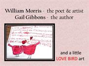 Love Bird Poem Painting and Gail Gibbons - How To
