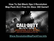 Download Black Ops 2 Revolution Map Pack DLC - Xbox 360