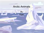 Piper's Arctic Animals