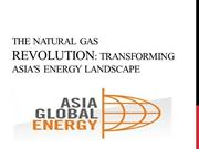 The natural gas revolution