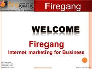 Firegang Internet marketing for Business