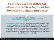 osCommerce Development for desirable business purposes