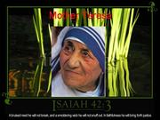 mother teresa assignment sebastian